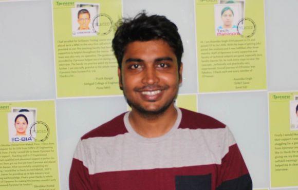 Akash Dubey | Placed @ Clover Infotech