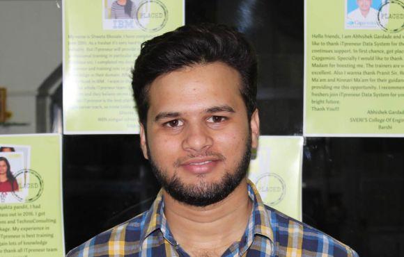 Fawad Jahagirdar Placed @ Kanka Software
