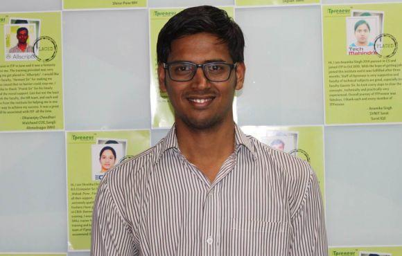 Kiran Ghade | Placed @ Gurujiworld Tech.
