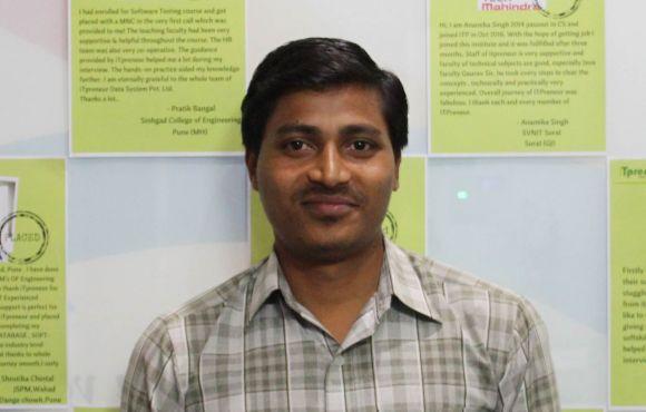 Konerri Alokkar | Placed @ Tech Mahindra