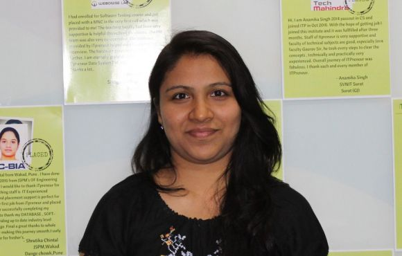Neha Mahajan | Placed at 3DPLM