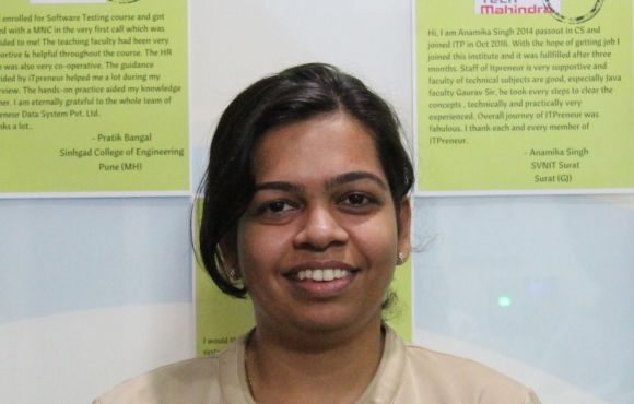 Prachi Patil | Placed @ Tech Mahindra