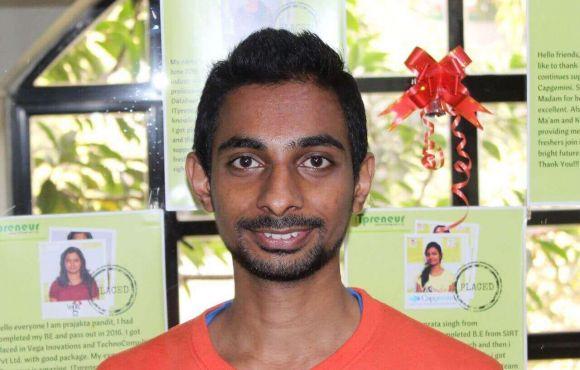 Sunil Veer | Placed @ BMC Software