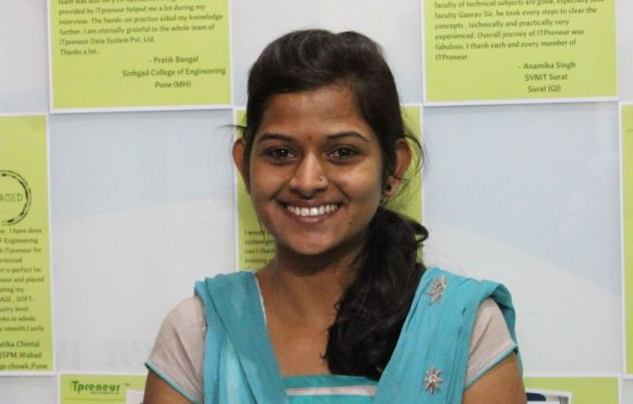 Priyanka Patil | Placed at Tech Mahindra